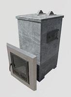Баня: металлическая печь-каменка и кирпичная печь-каменка